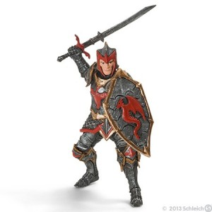 Dragon knight with sword